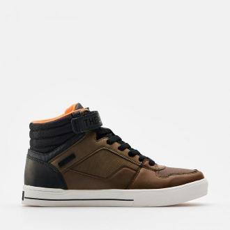 Cropp - Sneakersy za kostkę - Brązowy