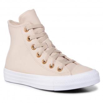 Sneakersy CONVERSE - Ctas Hi 568660C Farro/Gold/White
