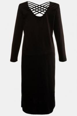 Duże rozmiary Koszula nocna, damska, czarny, rozmiar: 46/48, baweÅna/wÅókna syntetyczne, Ulla Popken