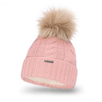 Zimowa czapka damska z wywinięciem