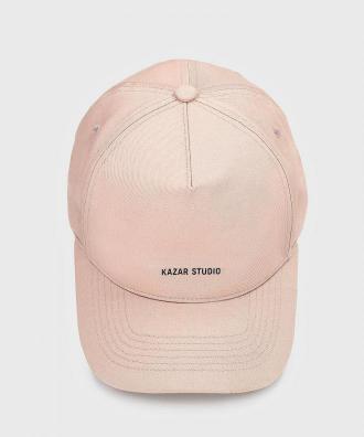 Beżowa czapka z daszkiem