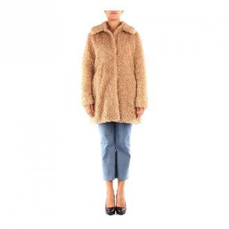 Guess płaszcz Płaszcze Beżowy Dorośli Kobiety Rozmiar: S