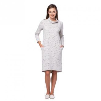 Look made with love Sukienka z dżerseju Mea Look Sukienki Biały