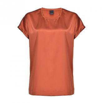 Pinko Koszula Bluzki i koszule Pomarańczowy Dorośli Kobiety Rozmiar: