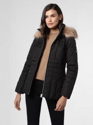 Calvin Klein - Damska kurtka pikowana, czarny