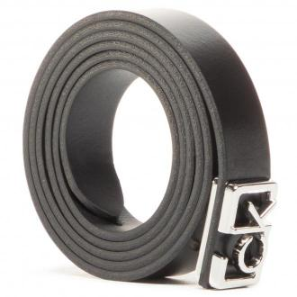 Pasek Damski CALVIN KLEIN - Plaque Skinny Belt 20Mm K60K607325 BAX