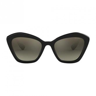 Miu Miu Glasses Akcesoria Czarny Dorośli Kobiety Rozmiar: 55