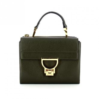 Arlettis minibag in natural grained leather