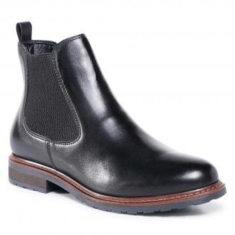 Sztyblety TAMARIS - 1-25056-25  Black Leather 003