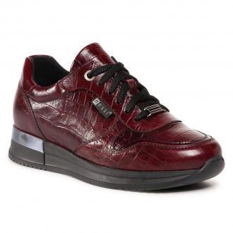 Sneakersy NESSI - 20771  Bordo Coco 2