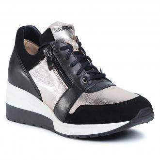 Sneakersy EKSBUT - 2B-6128-136/G45/155 Czarny
