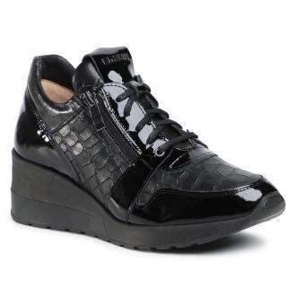 Sneakersy EKSBUT - 2B-6128-121/M93/0LS  Czarny