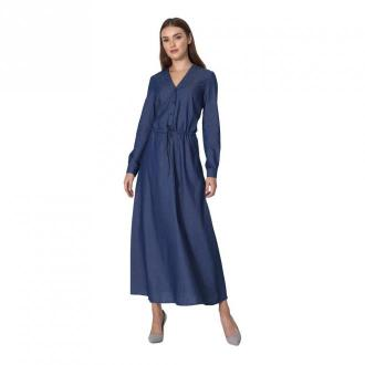 Nife Sukienka maxi Sukienki Niebieski Dorośli Kobiety Rozmiar: 42