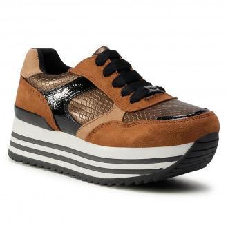 Sneakersy TOM TAILOR - 9092505 Brown/Bronze