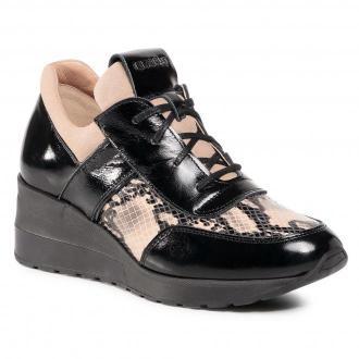 Sneakersy EKSBUT - 29-5702-L15/M85/L51 Czarny