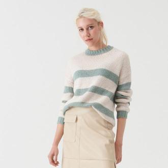 Sinsay - Sweter z wełną - Wielobarwny