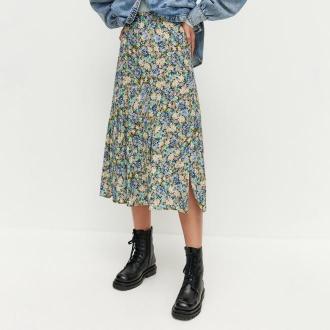 Reserved - Spódnica w kwiaty - Wielobarwny
