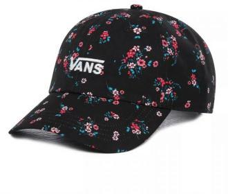 czapka z daszkiem VANS - Court Side Printed Hat Beauty Floral Black (ZX3)