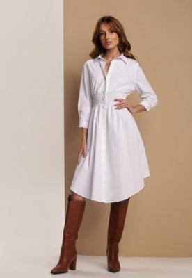 Biała Sukienka Blueglory