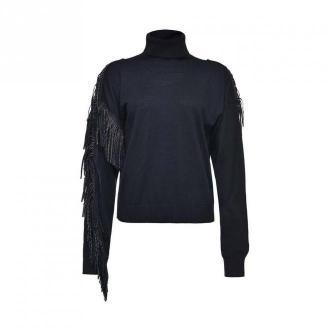 Pinko Women's pullover Swetry i bluzy Czarny Dorośli Kobiety Rozmiar: