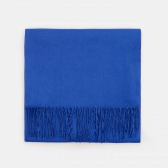 Mohito - Gładki szalik z wiskozą - Niebieski