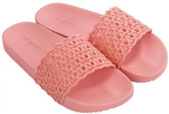 Zaxy różowe klapki Snap Mesh Slide Fem Pink - 35/36