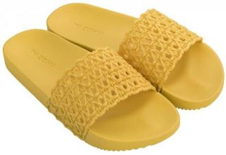 Zaxy żółte klapki Snap Mesh Slide Fem Yellow - 38