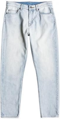 Roxy ONE GOOD SHOT BLEACHED BLUE markowe dżinsy damskie - 26