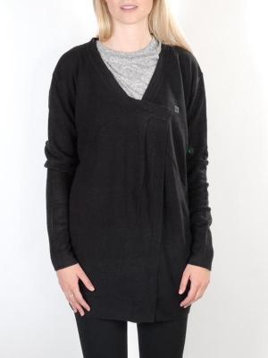 Dc CROWN OF LOVE black luksusowy damski sweter - XS