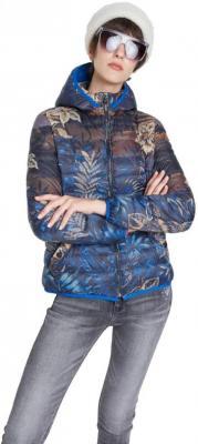 Desigual niebieska kurtka Padded Ankor - S