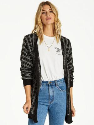 Billabong GOLDEN DAYS black luksusowy damski sweter - S