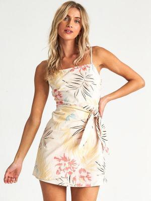 Billabong ISLAND HOPPER WHISPER krótkie sukienki - M