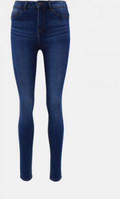 Niebieskie jeansy skinny od Noisy May Callie - XS