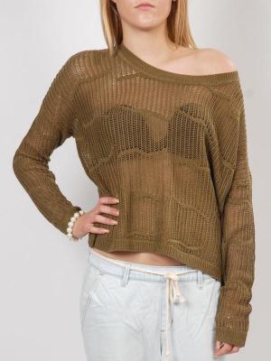 Roxy ROCKY POINT CQWH damski sweter projektant - S