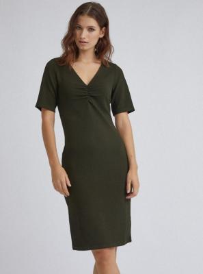 Ciemnozielona sukienka ołówkowa Dorothy Perkins - XS