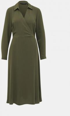Sukienka w kolorze khaki Dorothy Perkins - S