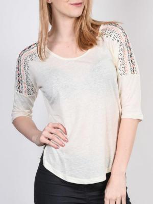 Roxy DOLMAN NATIVE WCD0 koszulka damska z długimi rękawami - S