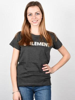 Element ELEMENT LOGO OFF BLACK t-shirt damski - XS