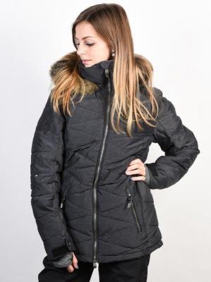 Roxy QUINN TRUE BLACK kurtka zimowa kobiety - XL
