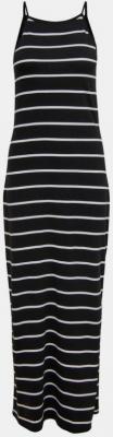Czarna basic sukienka maxi w paski ONLY May - XS