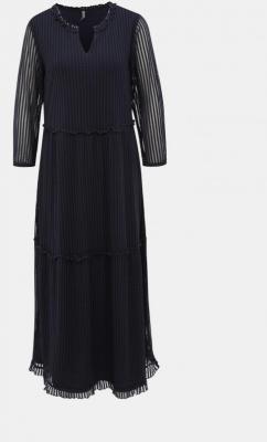 Granatowa sukienka maxi ONLY Naja - XS