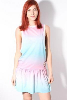 Femi Pleasure BAHAMA GRADIENT krótkie sukienki - L