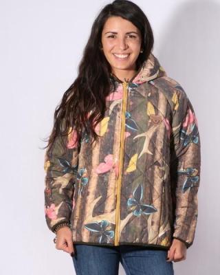 Femi Pleasure DESERT forest kurtka zimowa kobiety - S
