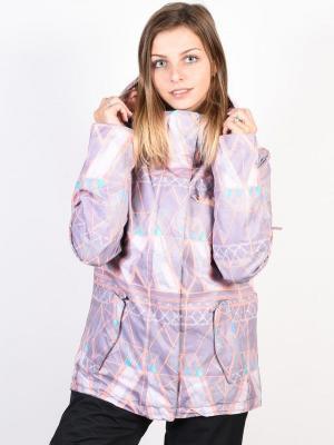Roxy JETTY MINIMAL GREY MOSAIC kurtka zimowa kobiety - S