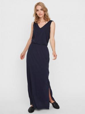 Granatowa sukienka maxi VERO MODA Rebecca - XS