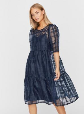 Vero Moda niebieska sukienka maxi - XS