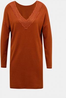 Brązowa sukienka swetrowa ONLY  - XS