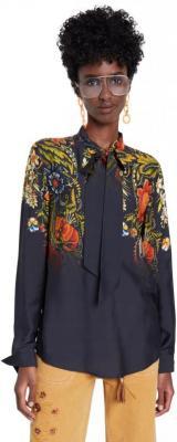 Desigual czarna koszula Blus Lauren - L