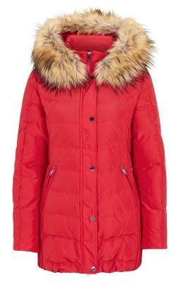 SAKI Puchowa kurtka Lauren czerwony