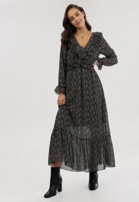 Czarna Sukienka Ravenkeep